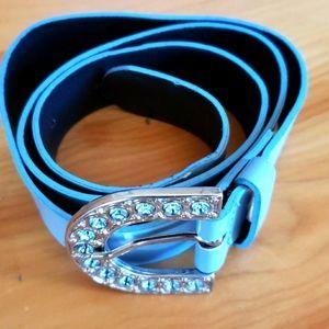 Miss Blumarine baby blue 💙 belt